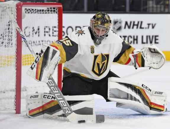 Oscar Dansk Golden Knights