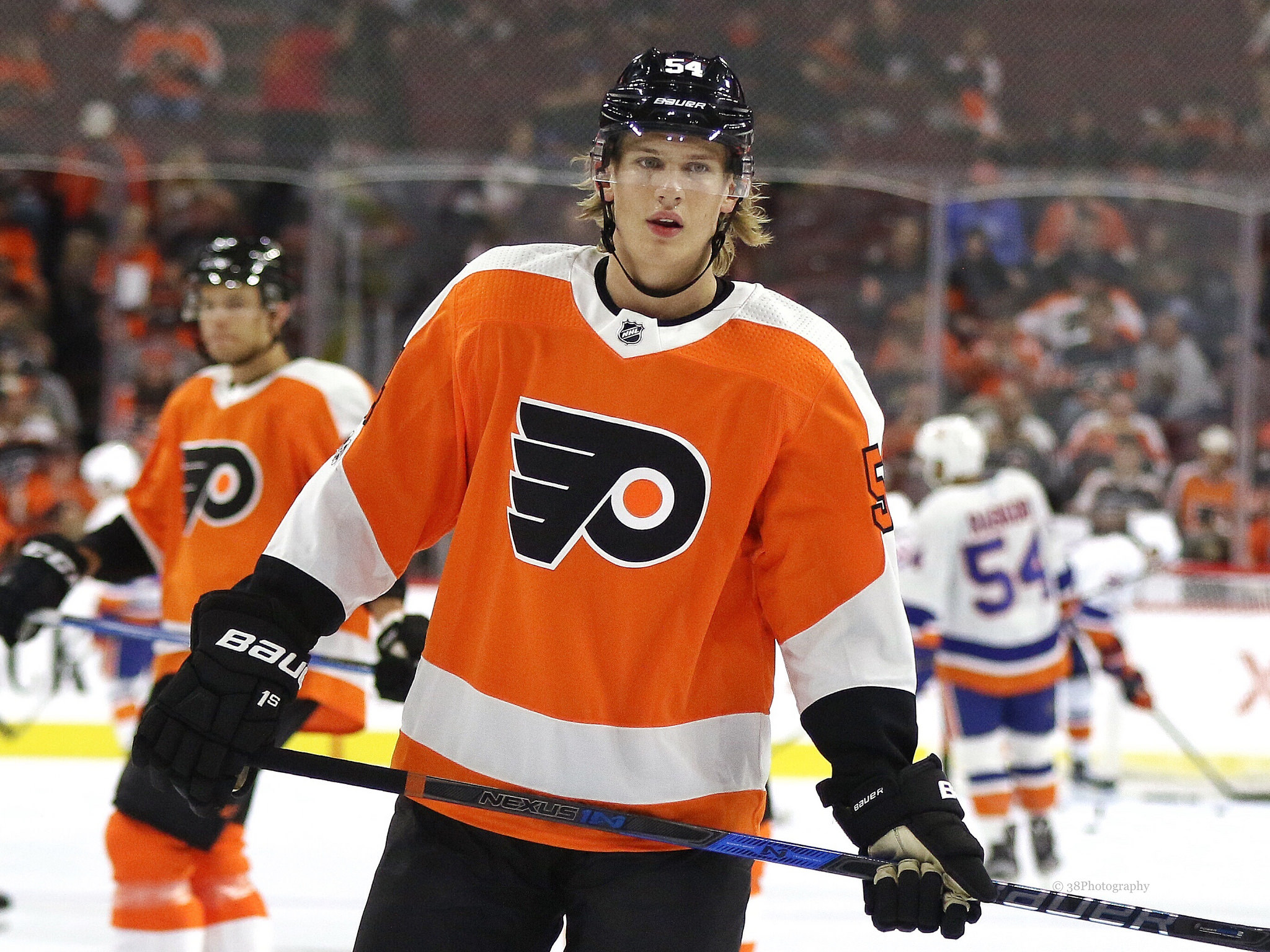 Leier, Ghost pace Flyers to OT preseason win at PPL Center