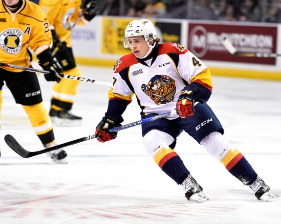 Owen Headrick Erie Otters 2017
