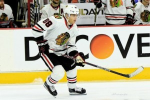 Patrick Kane has easily been the most clutch scorer in the West this season. (Amy Irvin / The Hockey Writers)