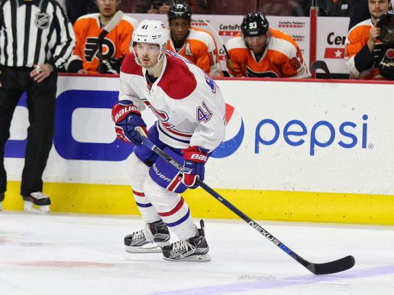 Montreal Canadiens forward Paul Byron