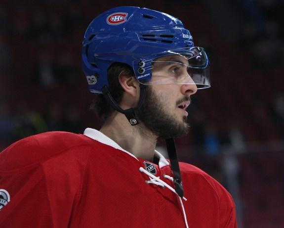 Montreal Canadiens centre Phillip Danault