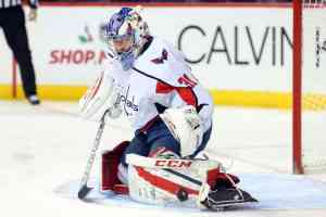 Washington Capitals goalie Philipp Grubauer