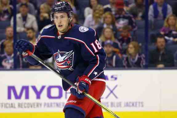 Pierre-Luc Dubois, Columbus Blue Jackets