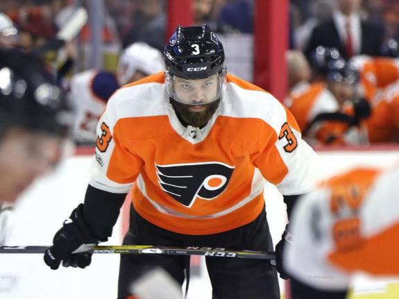 Radko Gudas #3, Philadelphia Flyers