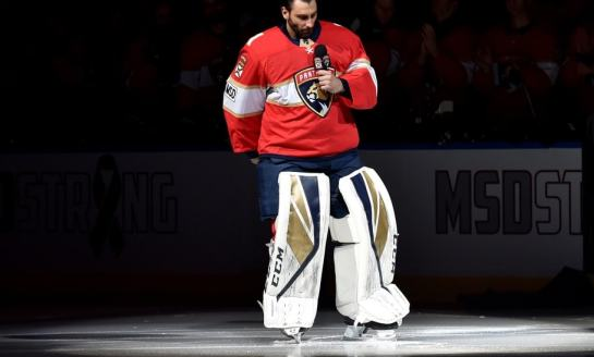 The Future of Panthers' Luongo