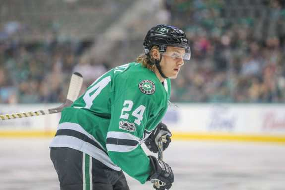 Dallas Stars left wing Roope Hintz