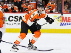 Shayne Gostisbehere (Amy Irvin / The Hockey Writers)