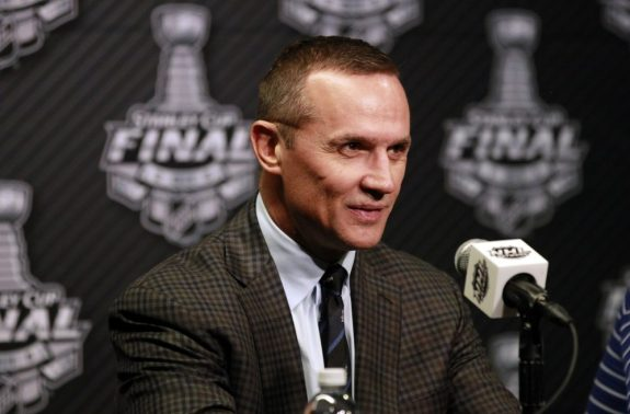 Former Detroit Red Wings captain Steve Yzerman.