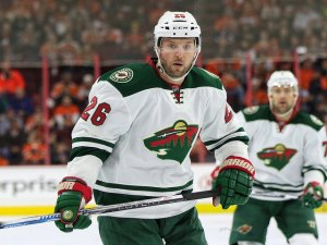Thomas Vanek was one of the under-performing veterans that seemed to get a gentle hand from Mike Yeo. (Amy Irvin / The Hockey Writers)