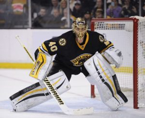 It's been a rough go for Rask this season, who's starting to feel the heat a bit. (Bob DeChiara-USA TODAY Sports)
