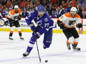Victor Hedman, Tampa Bay Lightning (Amy Irvin / The Hockey Writers)