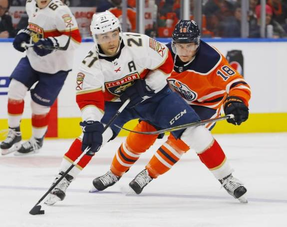 Florida Panthers, forward, Vincent Trocheck