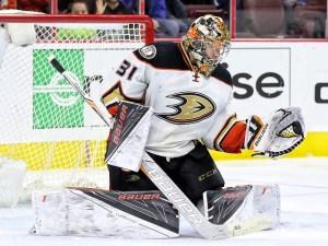 Frederik Andersen, Anaheim Ducks, NHL, Milestones