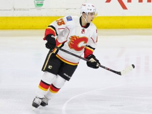 Gaudreau is one of the more clutch-scorers in the NHL this season. (Amy Irvin / The Hockey Writers)