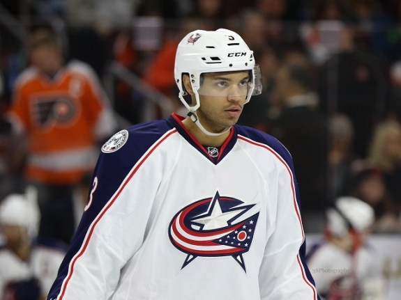 If there is good news, the Blue Jackets start the season with a better defense, lead by Ryan Murray and Seth Jones. (Amy Irvin / The Hockey Writers)