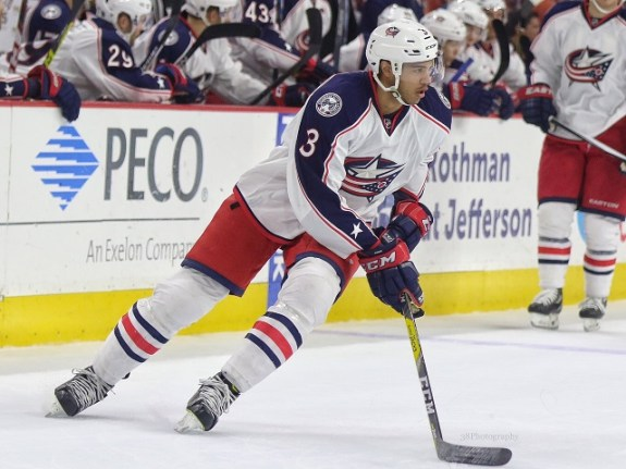 Columbus Blue Jackets defenseman Seth Jones