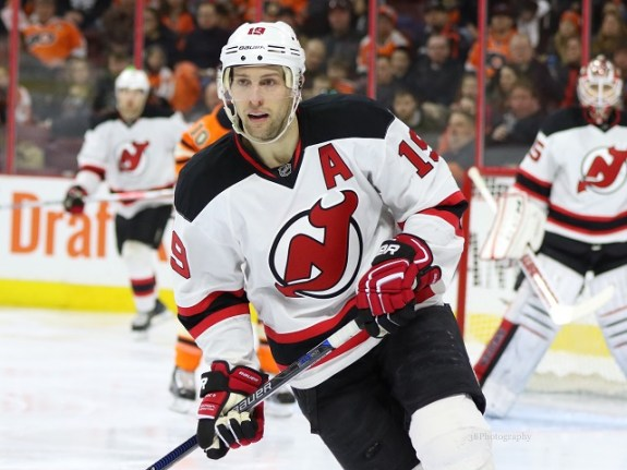 Travis Zajac, New Jersey Devils, NHL