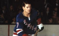 50 Years Ago in Hockey: Rod Gilbert Out for the Season