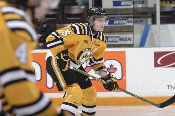 Jakob Chychrun could be the best defenseman available in the entire draft. (Metcalfe Photography)