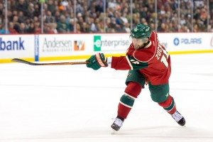 While not mentioned here, Minnesota Wild winger Jason Zucker had a solid week, and his production could sky-rocket in the fnal two months of play if it continues.(Brad Rempel-USA TODAY Sports)