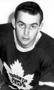 Parker MacDonald, as a rookie with Toronto.