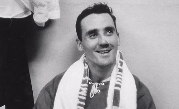 Montreal Canadiens goalie Jacques Plante
