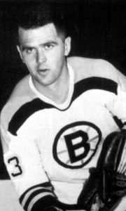 Harry Sinden, seen last season with Minneapolis Bruins.