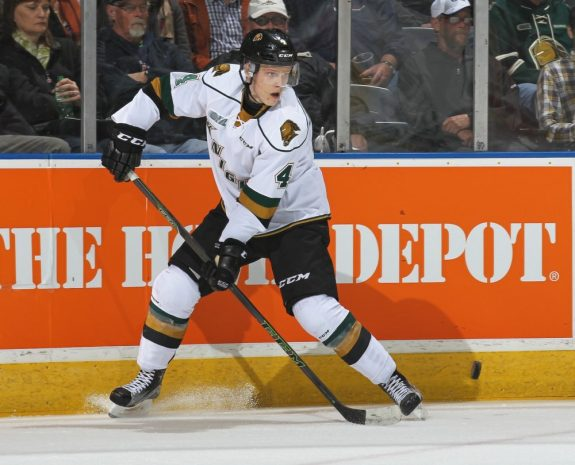 Olli Juolevi, London Knights, NHL Combine, NHL Draft