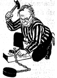 Canadian Prime Minister Lester Pearson is in an unenviable position.
