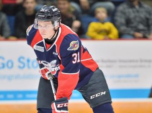 Mikhail Sergachev of the Windsor Spitfires