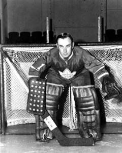 Bruce Gamble - 4th Leaf goalie to be injured this year.