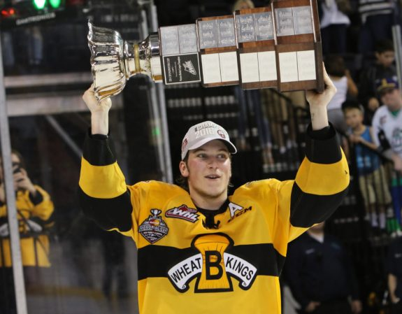 Nolan Patrick, Brandon Wheat Kings, NHL Entry Draft, WHL