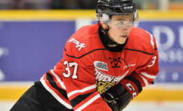 Golden Knights' Suzuki Tearing Up OHL