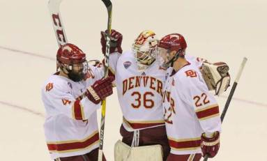 NCAA Hockey Rankings: Denver Sweeps St. Cloud State for No. 1