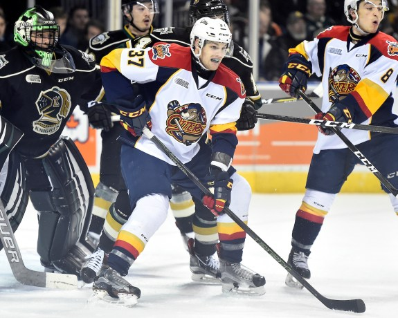 Warren Foegele, OHL, Erie Otters, Carolina Hurricanes