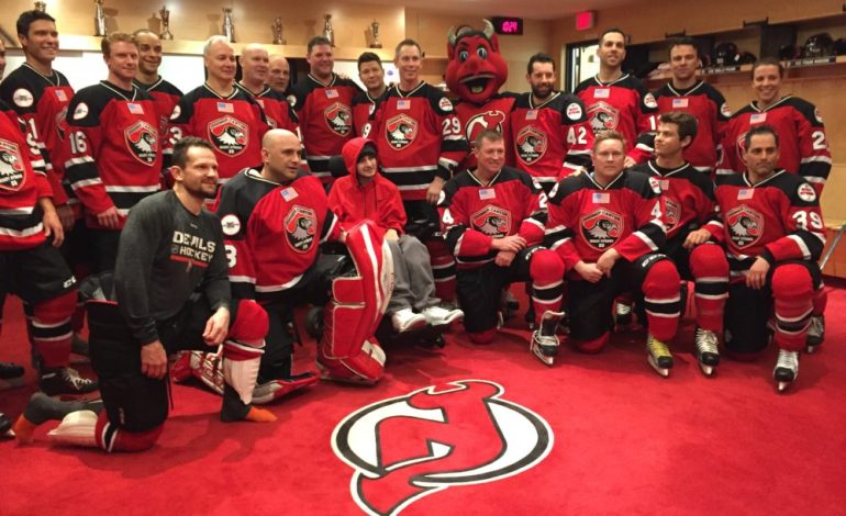NHL Alumni Lace up the Skates for Mikey