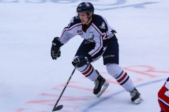 Kyle Olson of the Tri-City Americans
