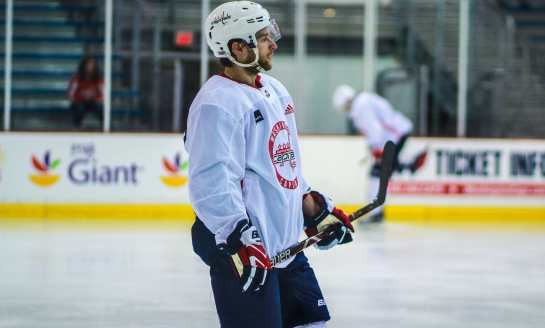 From Australia to DC, Nathan Walker Closing in on NHL