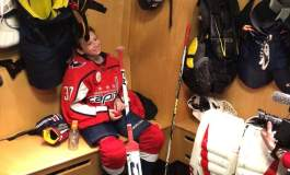 Capitals Make-A-Wish Come True
