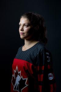 Rebecca Johnston Team Canada