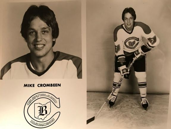 Mike Crombeen Cleveland Barons