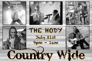 Country Wide Rocks at the Hody! @ Hody Bar and Grill in Middleton, WI | Middleton | WI | United States
