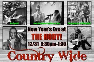 New Years with Country Wide at the Hody! @ Hody Bar and Grill in Middleton, WI | Middleton | WI | United States