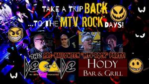 """It's an """"MTV ROCK"""" Halloween Eve Party at The Hody w/The Decade @ Hody Bar and Grill in Middleton, WI 