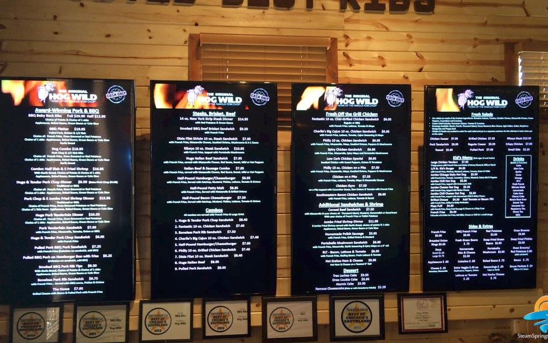 New Menu Boards!