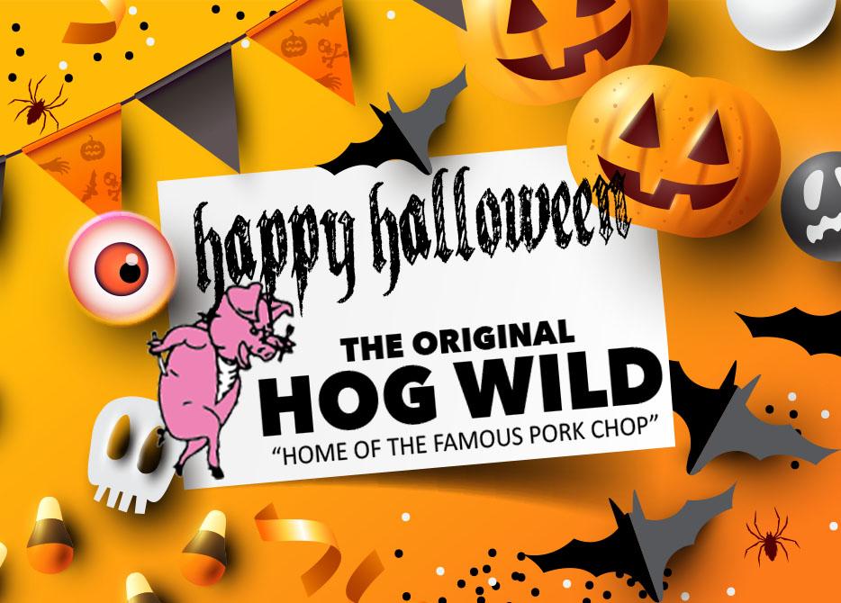 Happy Halloween!!! Wednesday, October 31, 2018 Daily Specials