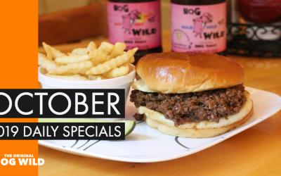 Daily Specials October 2019