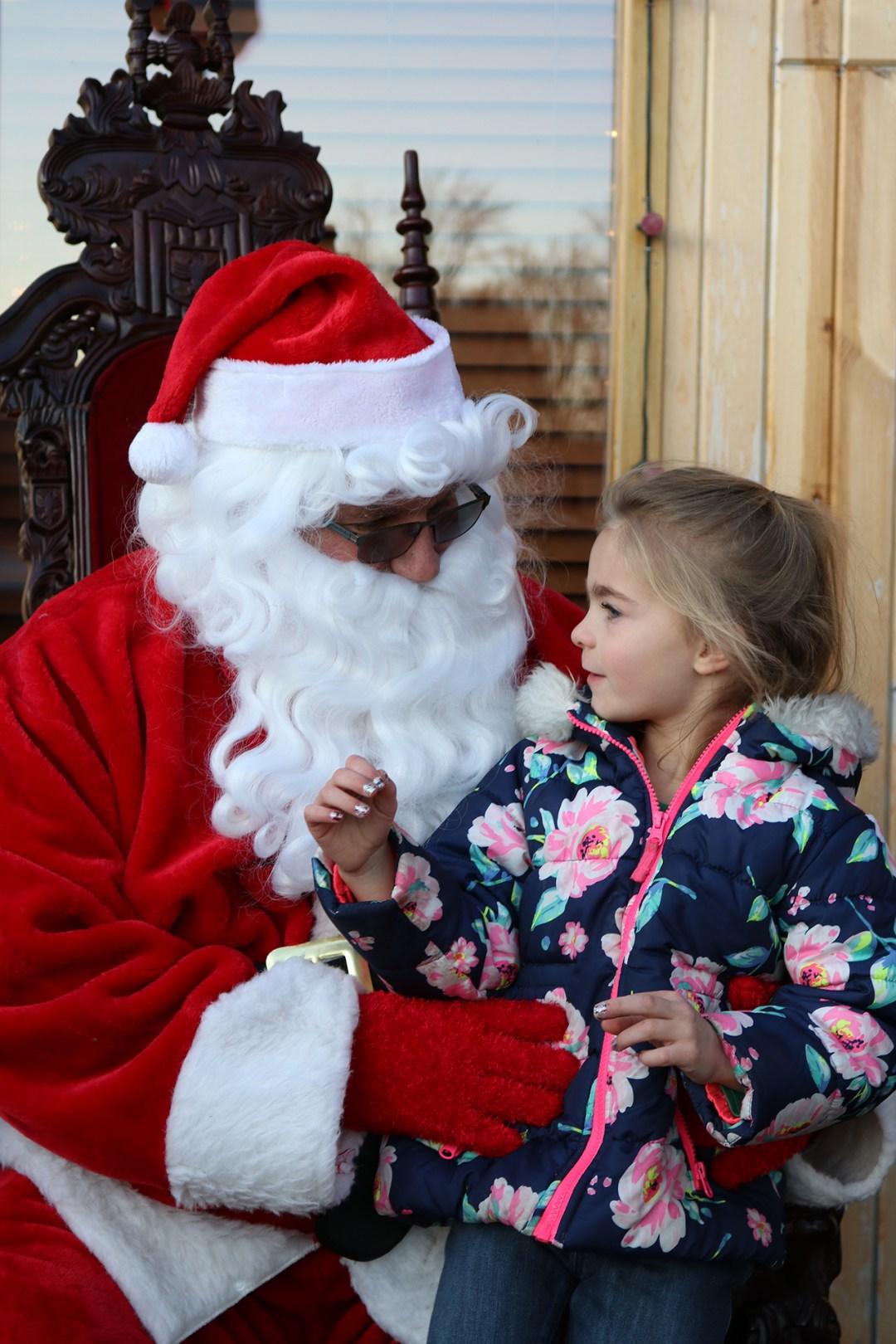 The Original Hog Wild Santa Visit 2019 11
