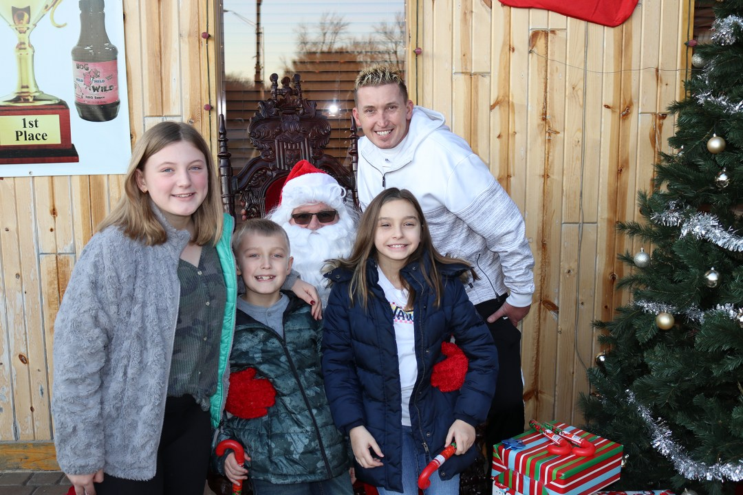 The Original Hog Wild Santa Visit 2019 20